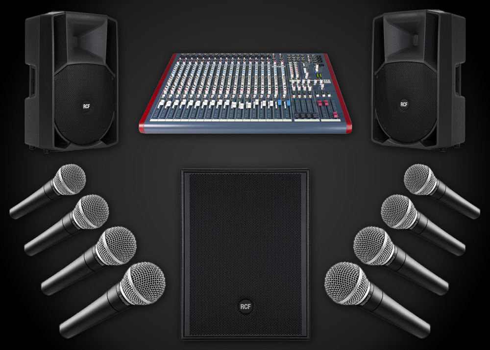Speaker Hire Surrey Package 2