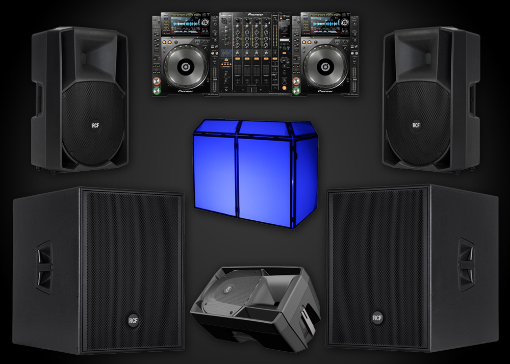 Speaker Hire Surrey Package 3
